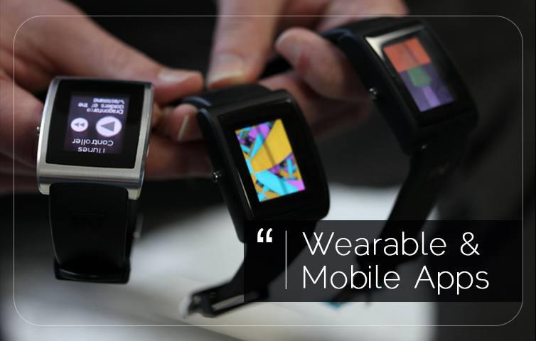 Images of Wearables and wearable apps