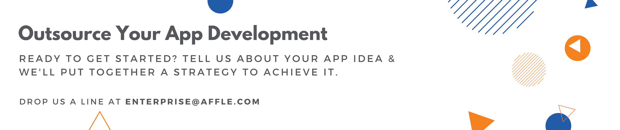 Outsource your app development