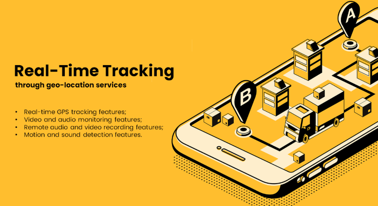 Real time employee tracking applications