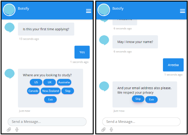 chatbot in edtech apps
